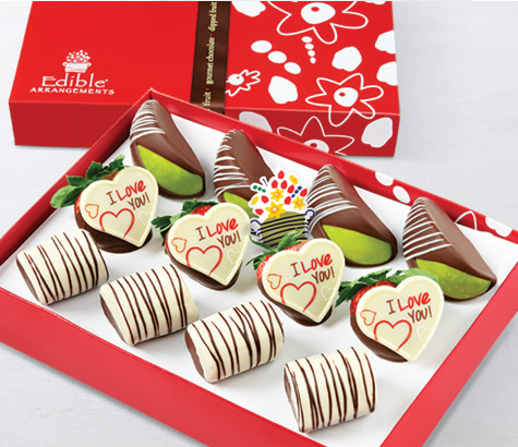 LOVE IS SWEET DIPPED FRUIT TRIO | Edible Arrangements®