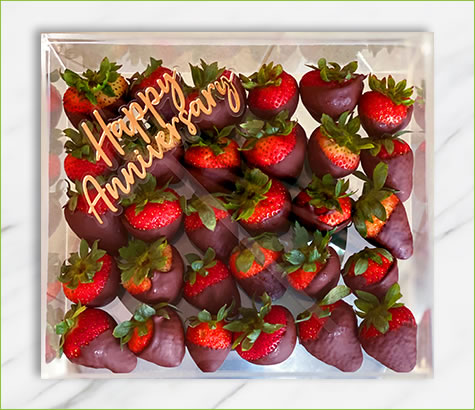 Happy Anniversary Plain Berries | Edible Arrangements®