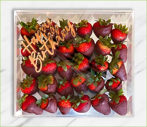 Happy Birthday Plain Berries | Edible Arrangements®