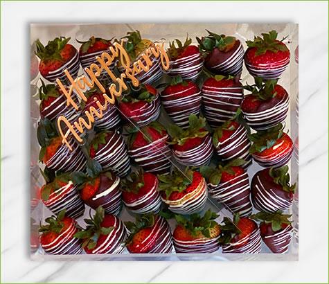 Happy Anniversary Swizzle Berries   Edible Arrangements®
