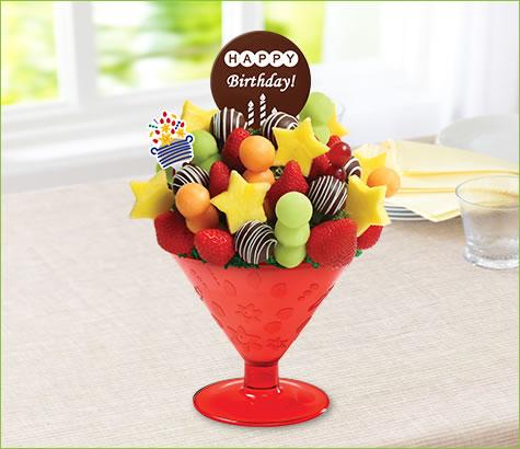 Birthday Wish-tini - with Belgian Chocolate Pop | Edible Arrangements®