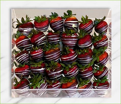 Strawberry Glazed Acrylic Box   Edible Arrangements®