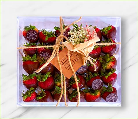 Eid Dipped Strawberry Acrylic Box | Edible Arrangements®