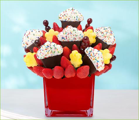 Grand Berry Confetti Cupcake   Edible Arrangements®