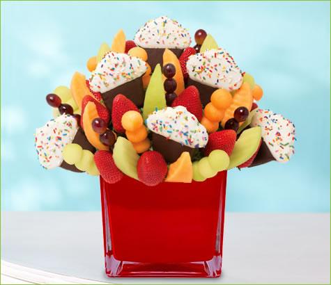 Grand Confetti Fruit Cupcake   Edible Arrangements®