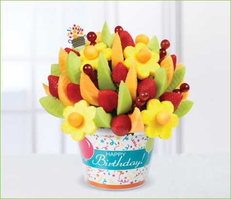 Happy Birthday Delicious Fruit Design | Edible Arrangements®