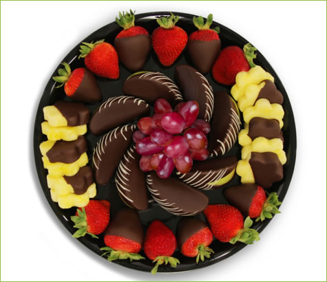 Chocolate Dipped Indulgence Platter | Edible Arrangements®