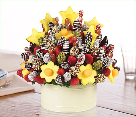 Very Lovely Party - Small combines fruit and gourmet chocolate to redefine fruit. Think flowers, delicious foods and great gifts, think Fruit bouquets. Better than gift baskets and fruit baskets these floral creations are a peg up on gift baskets. Order these edible fruit flower arrangements as gifts now.3/5(1).