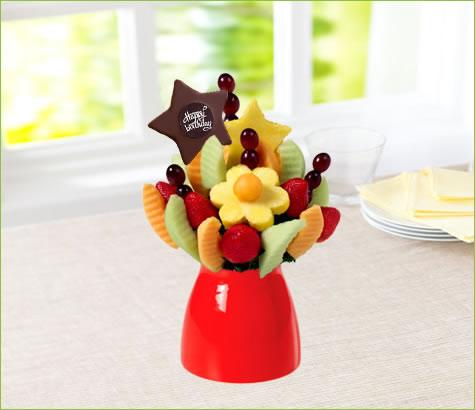 Delicious Daisy with Birthday Pop | Edible Arrangements®