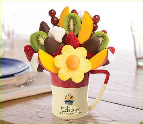 Mango Kiwi Daisy <br> Dipped Strawberries & Bananas | Edible Arrangements®