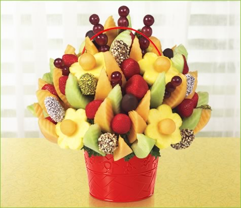 Delicious Fruit Design with Dipped Dates & Mixed Toppings | Edible Arrangements®