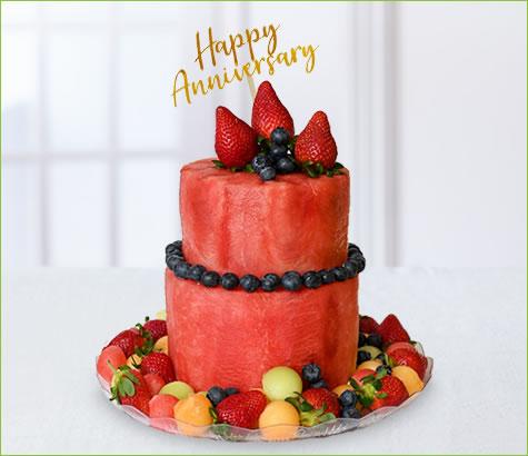 Blueberry Anniversary Cake | Edible Arrangements®