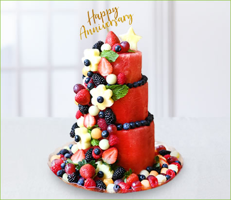 Premium Berry Anniversary Cake | Edible Arrangements®