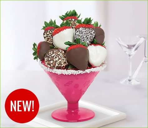 Mix it up Strawberry Chocolate-tini | Edible Arrangements®