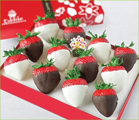 Dipped Strawberries White & Dark | Edible Arrangements®