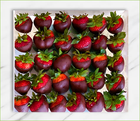 Strawberry Dipped Acrylic Box | Edible Arrangements®