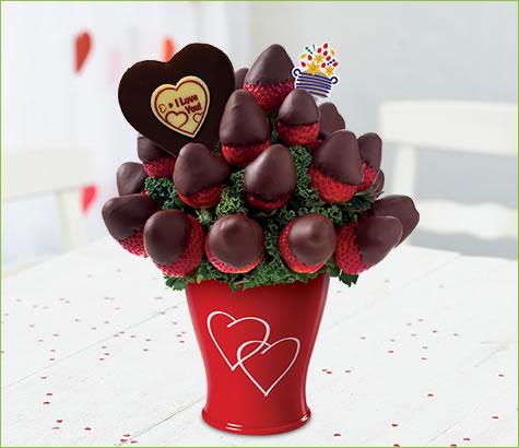 Sweetheart Bouquet - with Belgian Chocolate Pop | Edible Arrangements®
