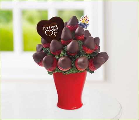 Sweetheart Bouquet - with Belgian Chocolate Pop   Edible Arrangements®