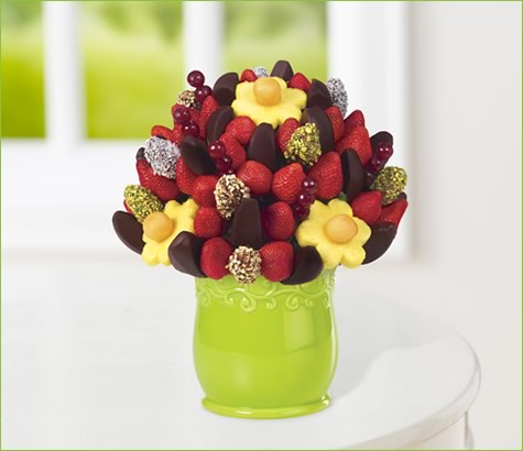 Apple Blossom with Dipped Dates and Nuts | Edible Arrangements®