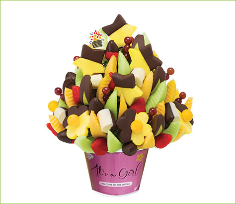 Its a Girl Celebration Dipped Delight | Edible Arrangements®