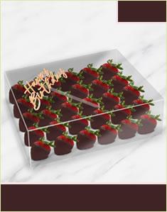 Happy Birthday Plain Berries