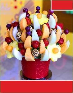 Fruit Design with Golden Berries