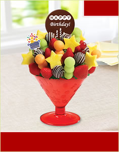 Birthday Wish-tini - with Belgian Chocolate Pop