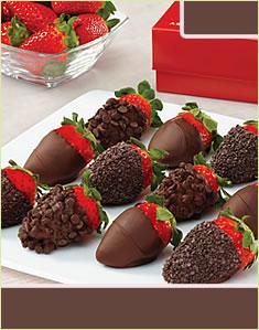 Chocolate Indulgence Strawberries Box