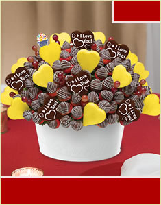 Endless Love Bouquet - with Belgian Chocolate Pop
