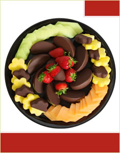 Dipped Fruit Decadence Platter