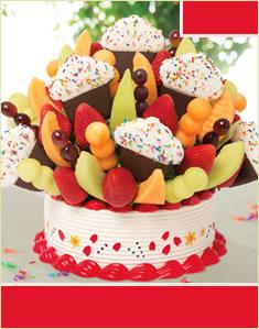 Grand Confetti Fruit Cupcake