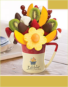 Mango Kiwi Daisy™  Dipped Strawberries & Bananas