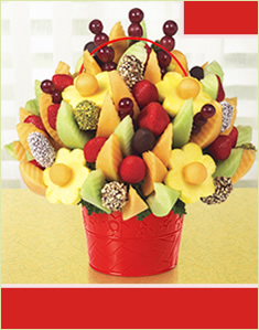 Delicious Fruit Design with Dipped Dates & Mixed Toppings