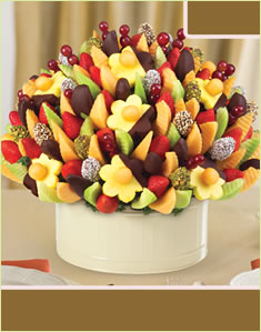 Delicious Party Dipped Apples,Daisies & Dates with Mixed Toppings