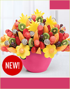 Watermelon Kiwi Festival™ Swizzle Pineapple Truffles in Serving Bowl