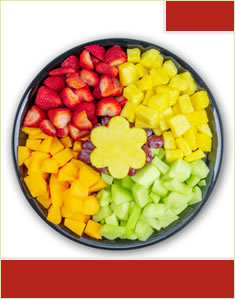 Slices of Fruit Platter